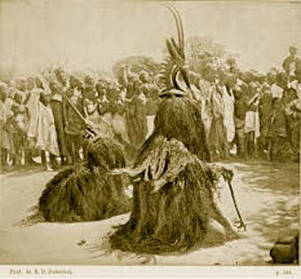 vintage.photo.ci.wara.ceremony